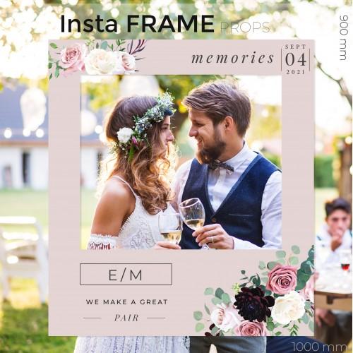 Rama petrecere nunta - InstaFrame - Soft Soul