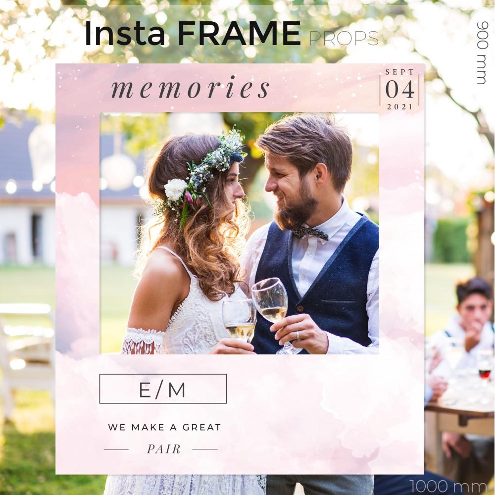 Rama petrecere nunta - InstaFrame - Pitch