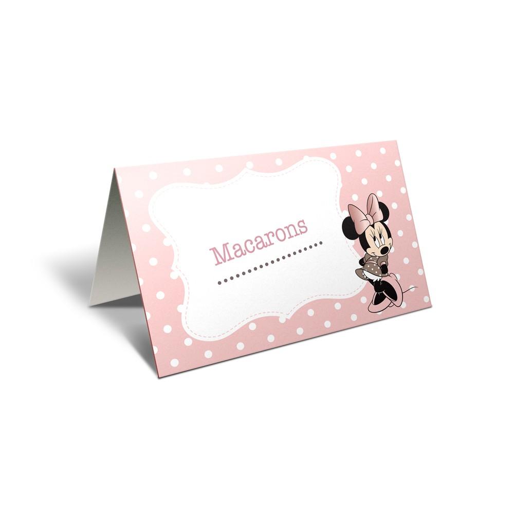 "Card masa candy bar ""Minnie"""