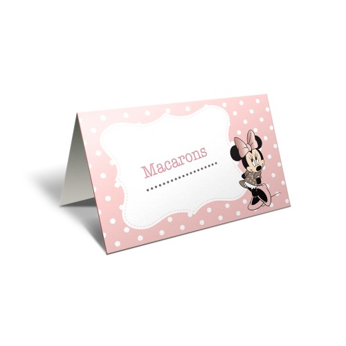 "Card masa candy bar ""Minnie"""