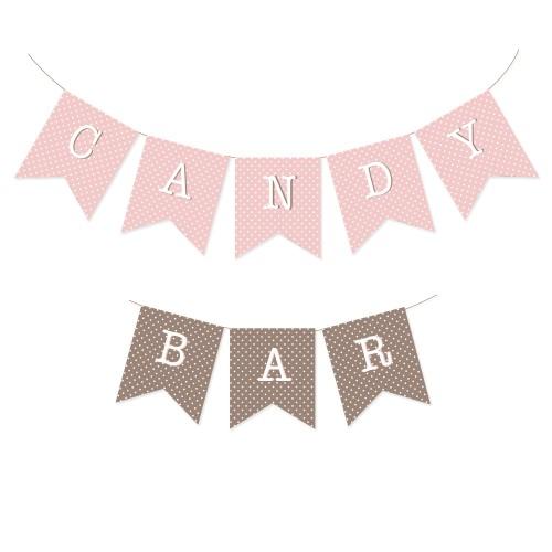 """Ghirlanda """"Candy bar"""" Minnie"""