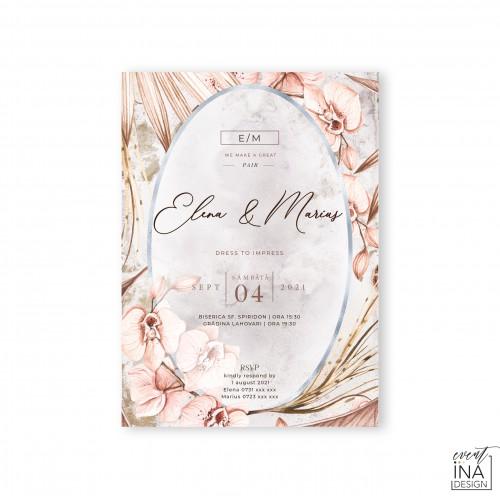 Invitatie de nunta  Dark Moon