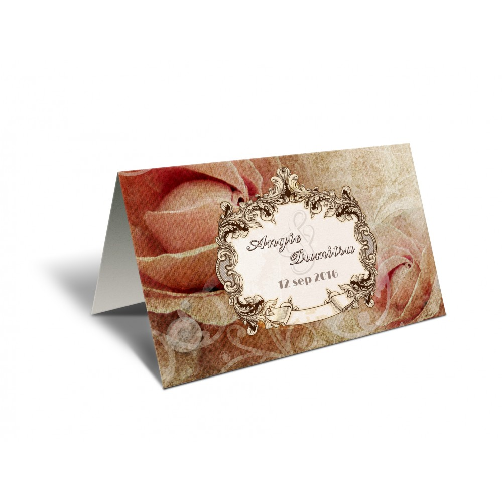 "Placecard "" Baroque"""