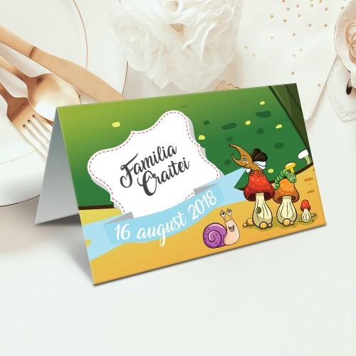 """Placecard de botez  """"Gandacel"""""""