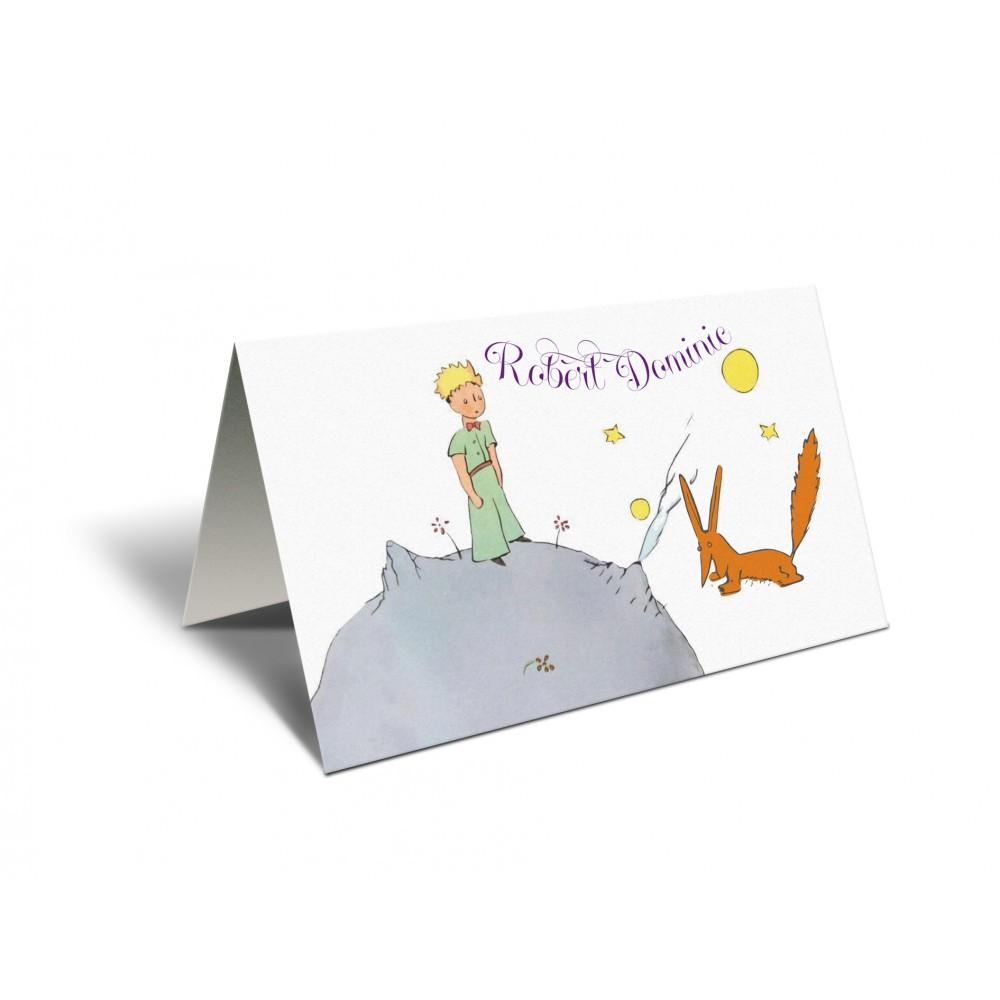 """Placecard  de botez """"Le Petit Prince"""""""