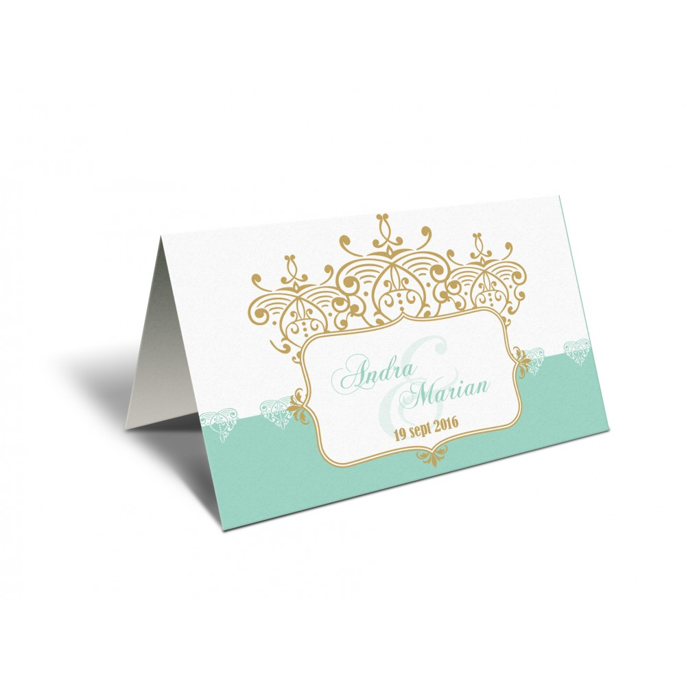 "Placecard "" Mint"""