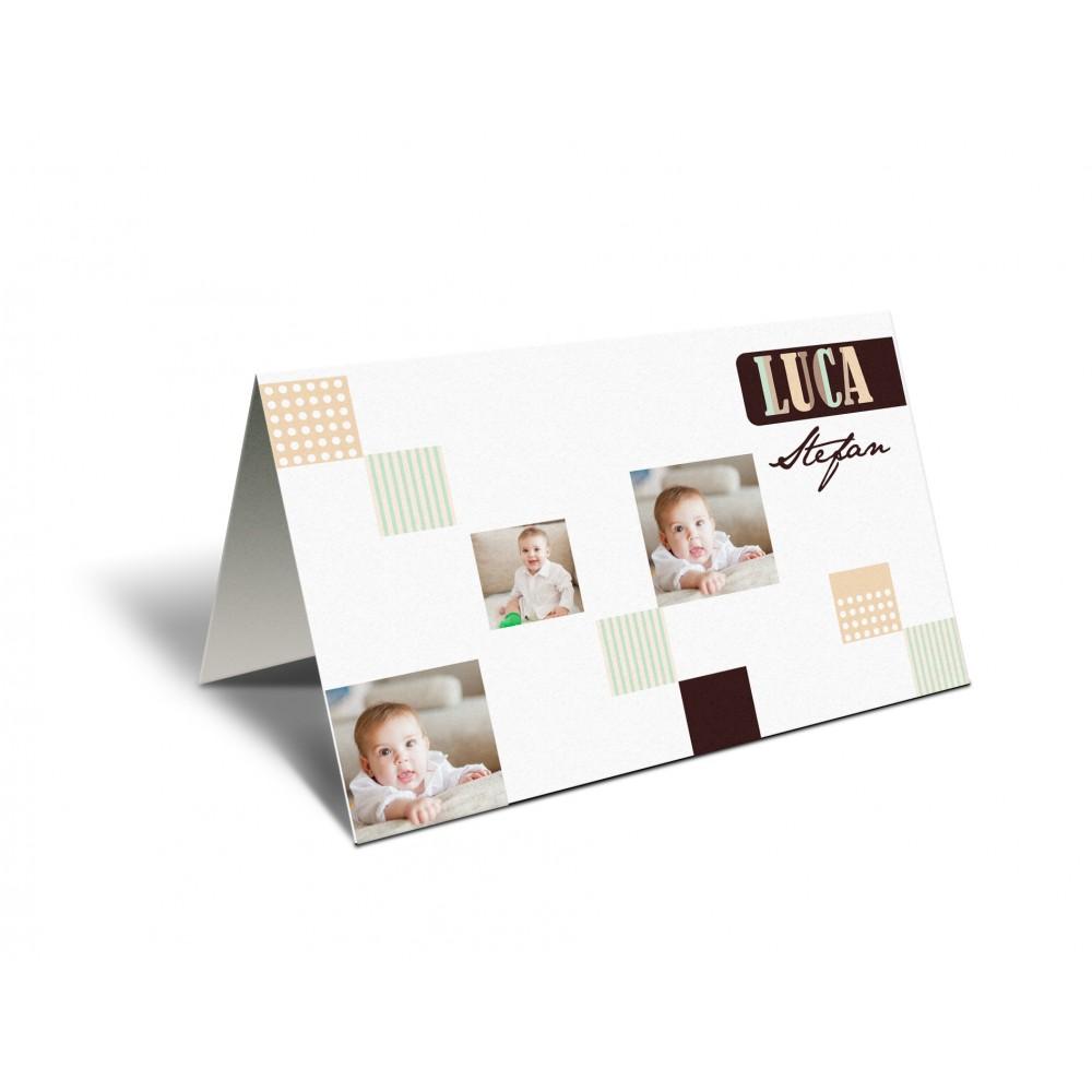 "Placecard ""Multicolors"""