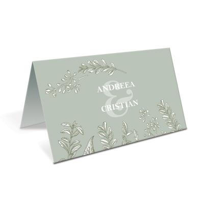 "Placecard de nunta "" Natural"""