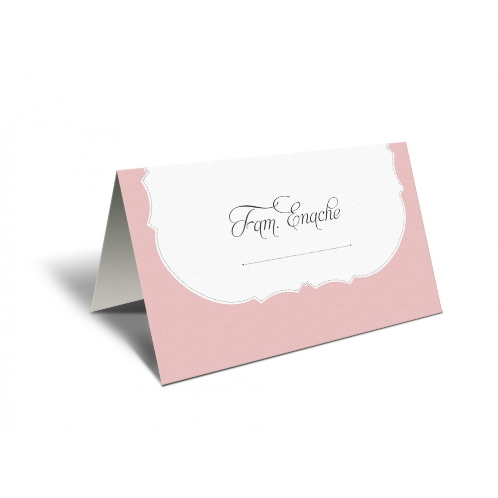 """Placecard """"Soft Pink"""""""