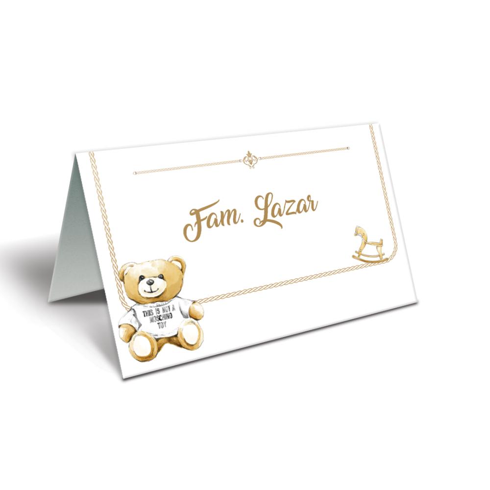 """Placecard  de botez """"Baby Dior"""""""